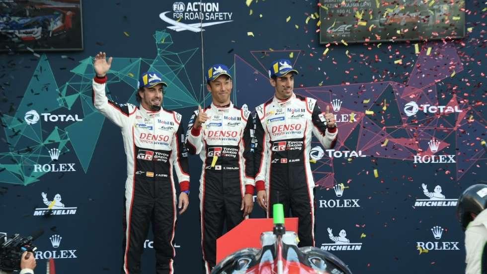 Fernando Alonso... ¡ganador de las 6 Horas de Spa! Así nos analiza su victoria