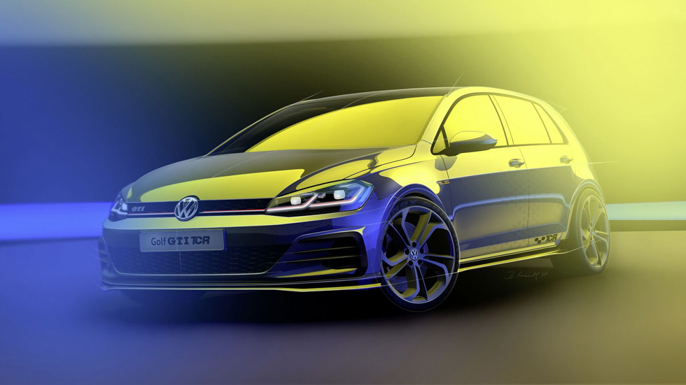 Volkswagen Golf GTI TCR 2019: así es la nueva bestia deportiva