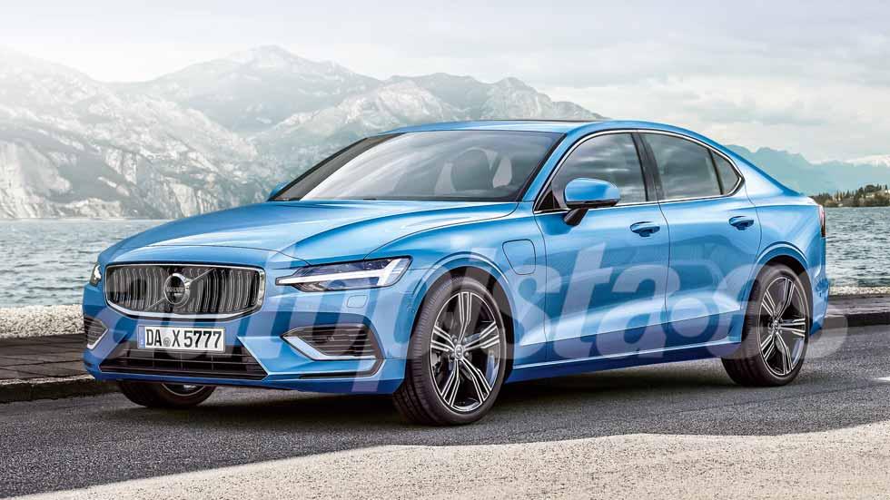 Volvo S60 2019: primeros datos y fotos de la nueva berlina