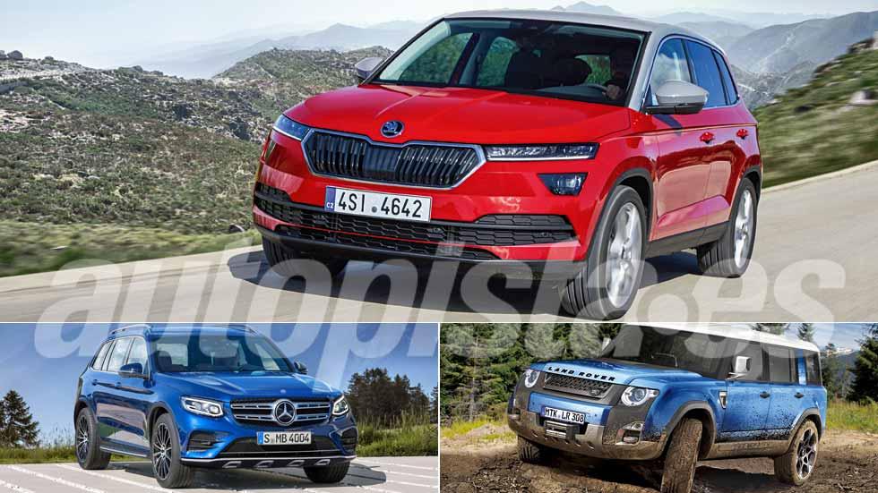 Skoda Polar, Land Rover Defender y Mercedes GLB: los nuevos SUV y 4x4 que vienen