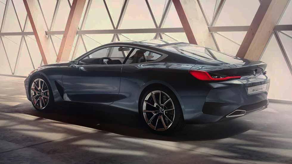 BMW Serie 8: así es el súper coche que llegará en otoño