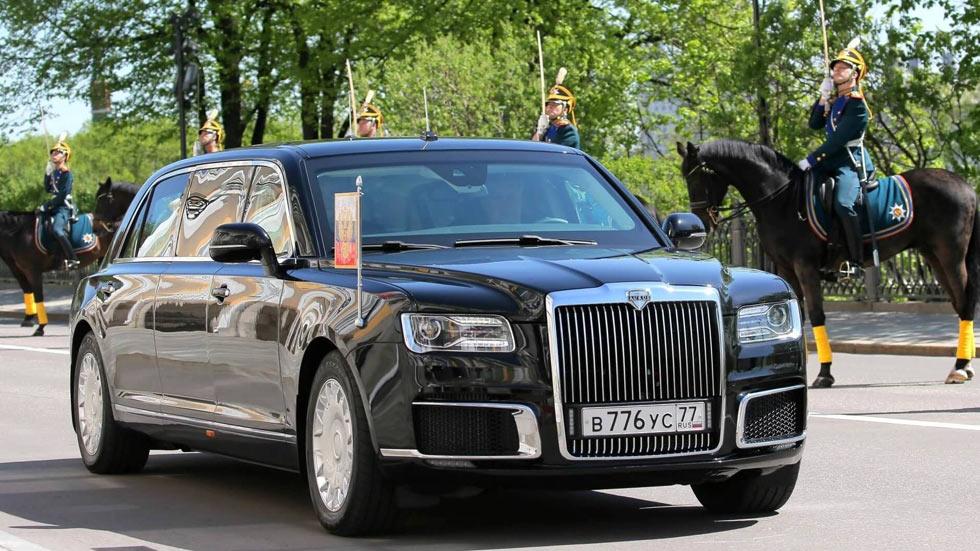 El nuevo coche de Putin… y otros vehículos históricos de la antigua URSS