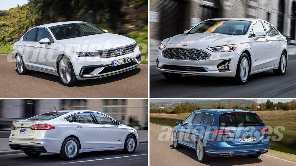 Ford Mondeo 2019 vs VW Passat 2019: las nuevas berlinas que vienen