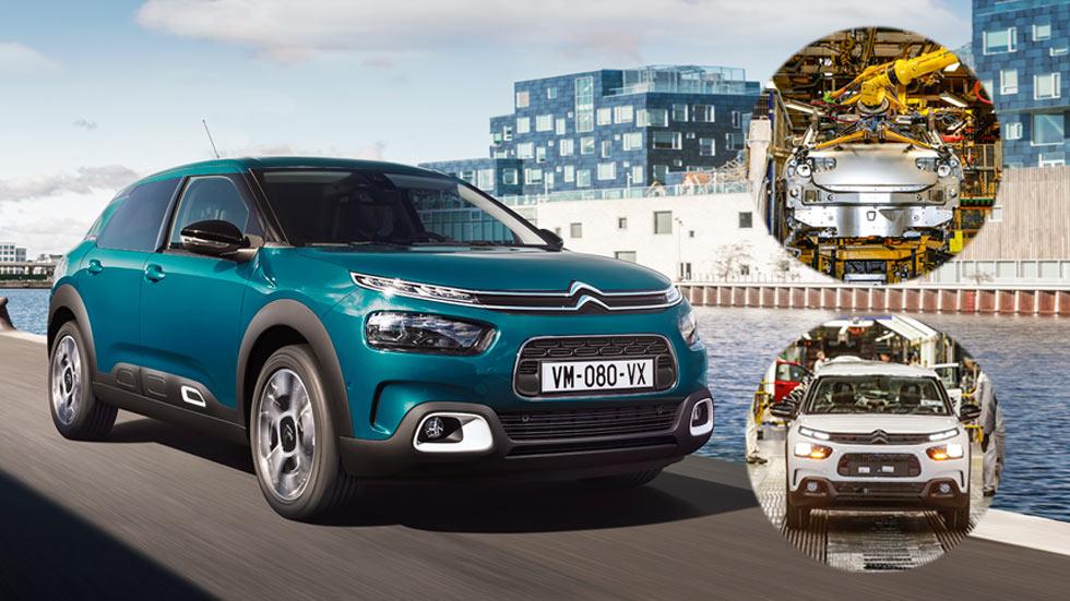 Así se fabrica el Citroën C4 Cactus: de Villaverde (Madrid) para todo el mundo
