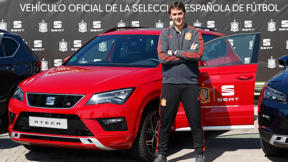 Seat, nuevo patrocinador oficial de la selección española de fútbol