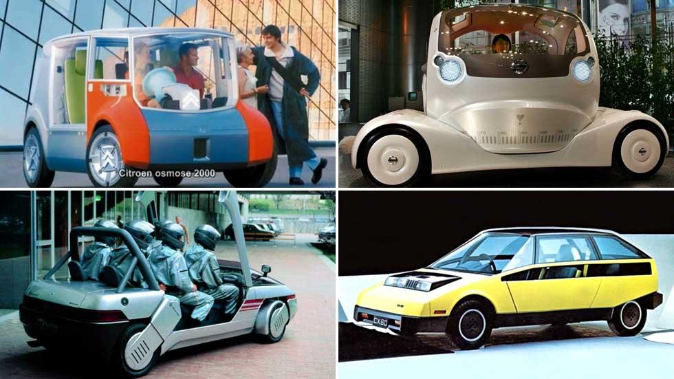 """Los 10 prototipos de coches más """"locos"""", feos y extraños de la historia"""