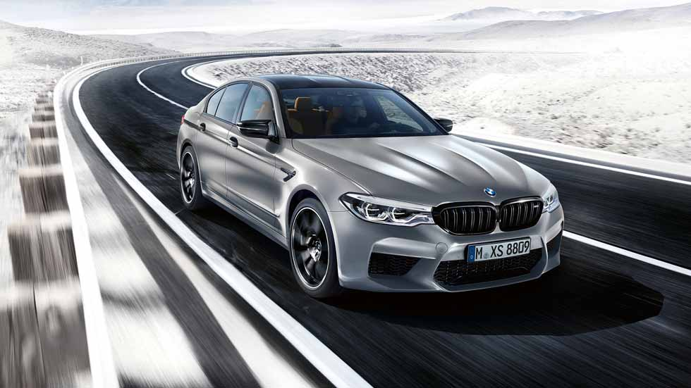 BMW M5 Competition 2018: deportividad superlativa