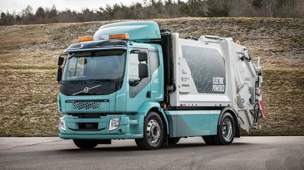 Volvo FL Electric: el camión totalmente eléctrico de Volvo