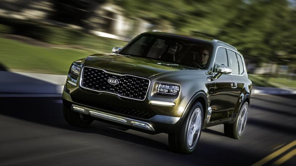 Kia Telluride: el nuevo gran SUV que llegará en 2019