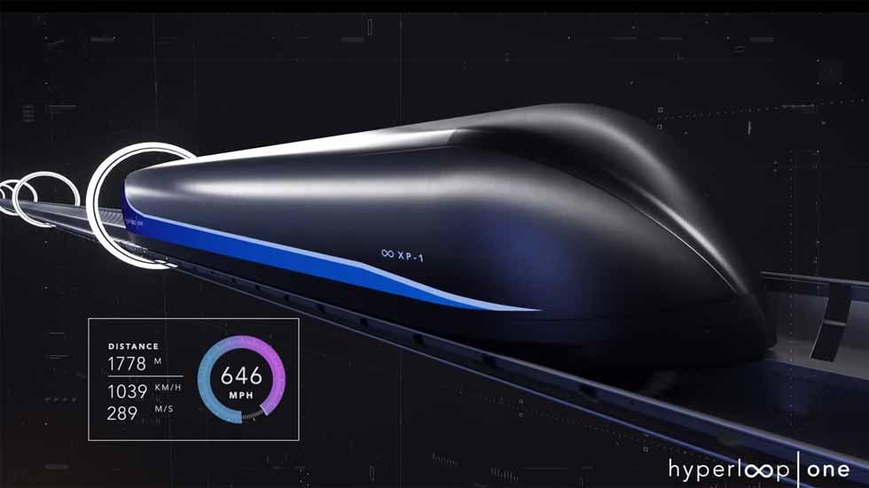 """Revolución en movilidad: el tren """"fantasma"""" Hyperloop podría llegar a España"""