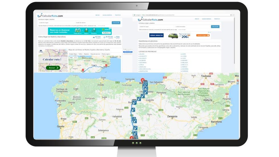 Planifica tu viaje de verano: probamos un calculador de rutas e itinerarios