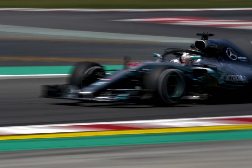 GP de España de F1 (FP2): Lewis Hamilton fue el más rápido