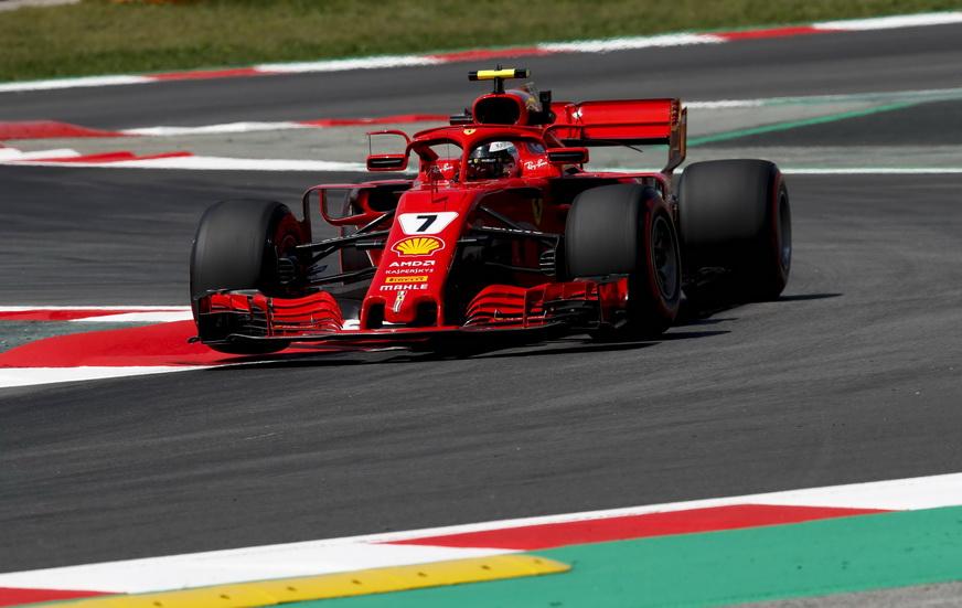 GP de España de F1: cambio de motor para Raikkonen