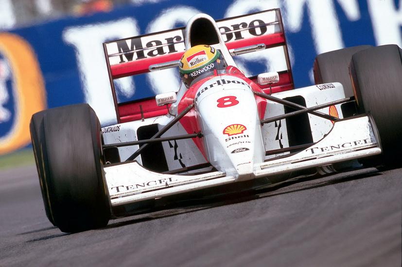 Ecclestone compra el McLaren con el que Senna consiguió su última victoria en Mónaco