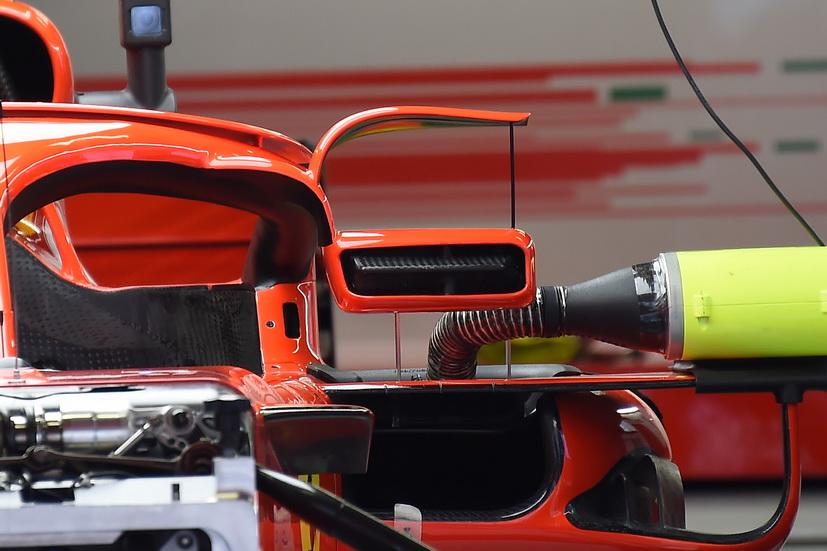 GP de España de F1: a la FIA no le gustan los nuevos retrovisores de Ferrari