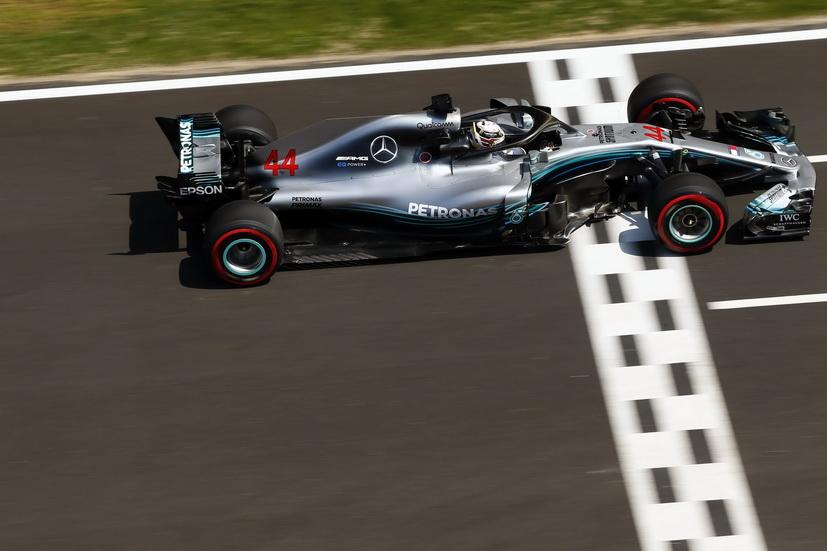 GP de España de F1 (Q): primera fila para Mercedes que pulveriza todos los récords