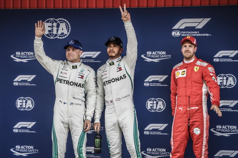 GP de España de F1: así queda la parrilla de salida