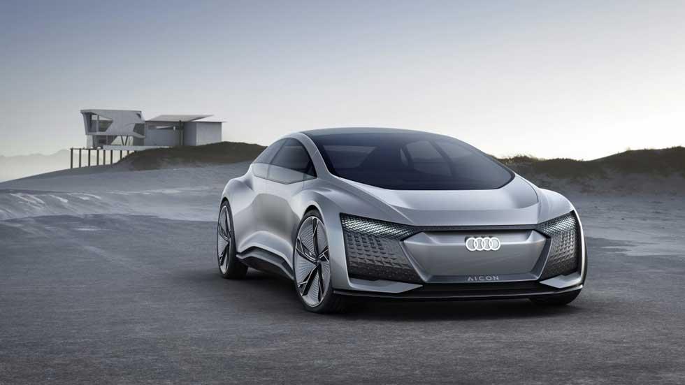 Audi Aicon Autónomo: el coche del futuro llegará en 2021