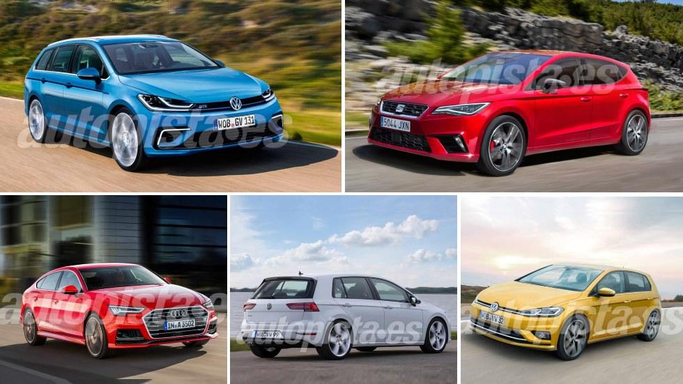 Audi A3, Seat León y VW Golf: los nuevos compactos trillizos que llegan en 2019