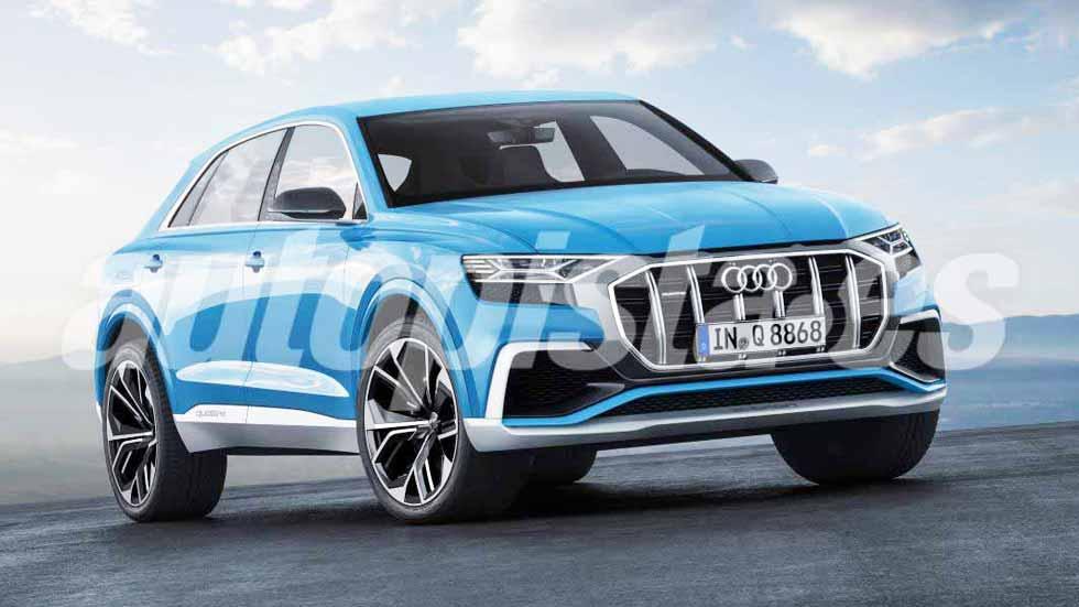 Audi Q8 2018: así es el nuevo SUV que se estrena en junio