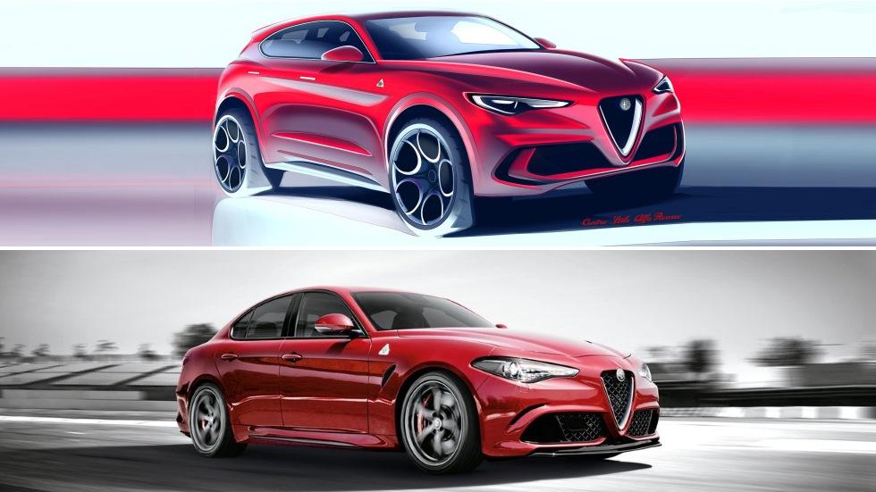 Alfa Romeo lanzará un nuevo SUV y el Giulia Coupé: así serán