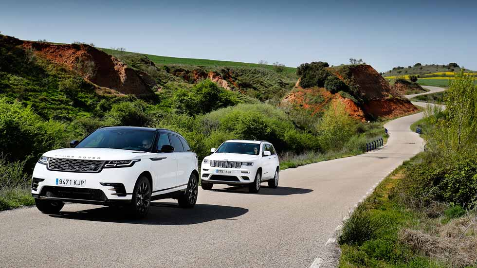 Comparativa SUV: Jeep Grand Cherokee vs Range Rover Velar