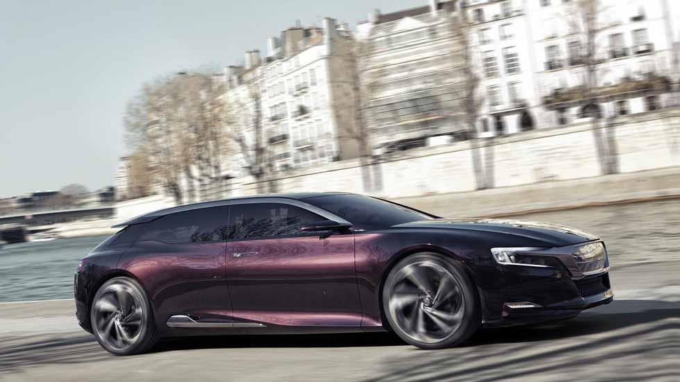 DS 8 2020: la nueva berlina de PSA para competir con Serie 5 y Audi A6
