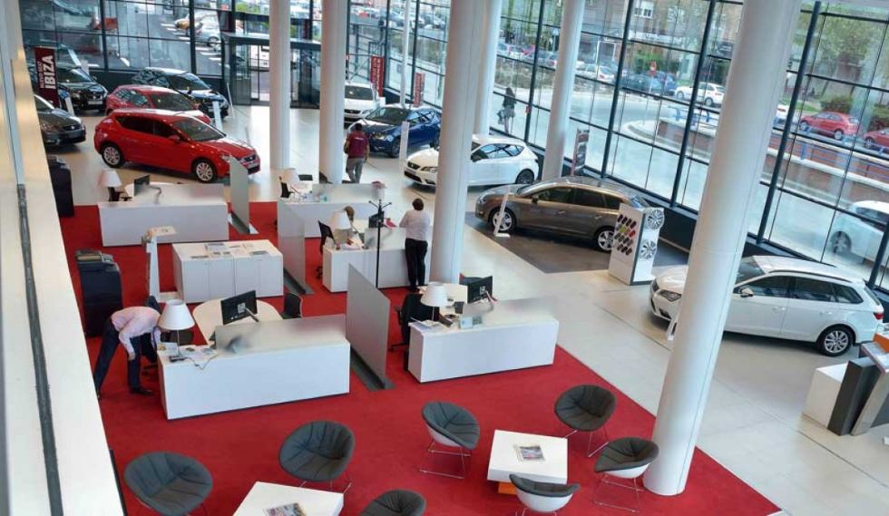 Las ventas de coches crecen casi un 10 por ciento en Europa