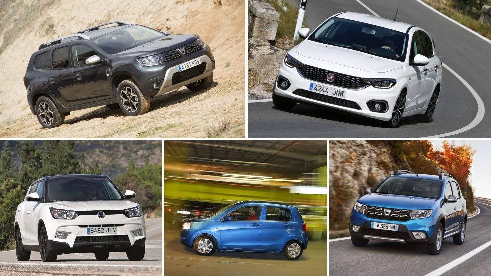 Los coches y SUV más baratos del mercado, a prueba: Duster, Tipo, Tivoli…