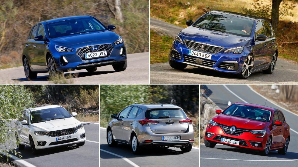 Los 10 compactos más baratos: Tipo, C4 Cactus, 308, Astra, Focus, Mégane…