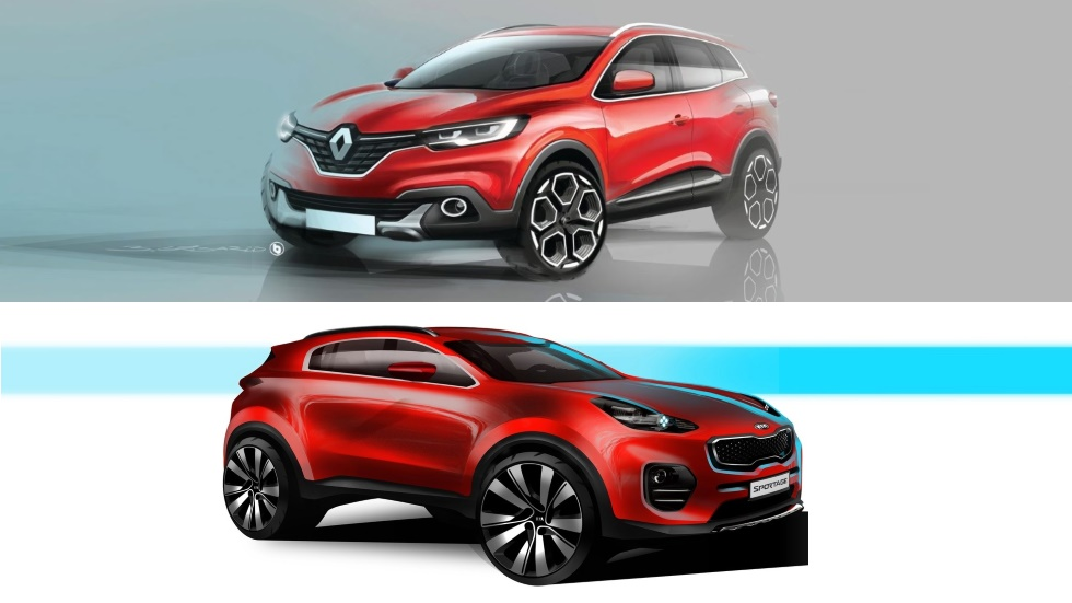 Kia Sportage 2019 Vs Renault Kadjar 2019 Los Nuevos Suv Anti