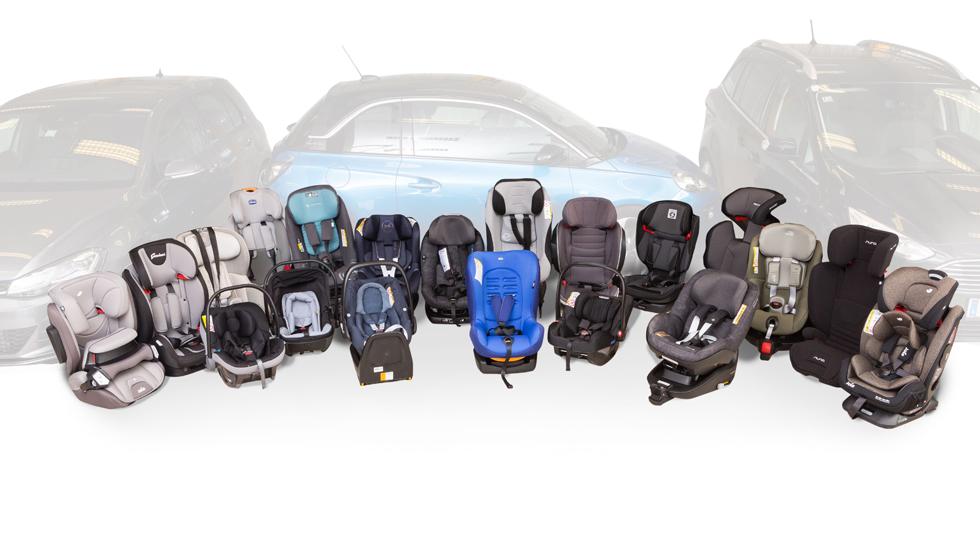 ¿Cuáles son las sillitas de coche más seguras en un impacto frontal?