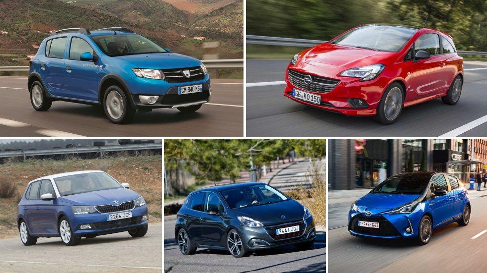 Los 10 utilitarios más baratos del mercado: Sandero, Ka+, 208, Corsa, Clio…