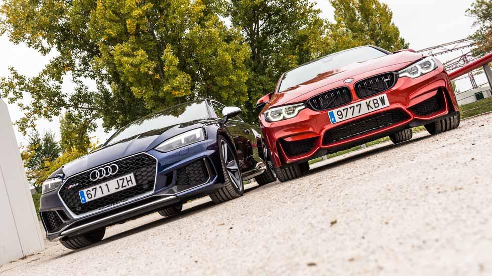BMW M4 vs Audi RS 5 Coupé: a prueba dos titanes deportivos