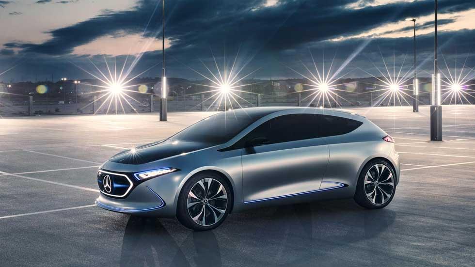 Mercedes EQ A: así es el nuevo compacto eléctrico que se fabricará en Francia