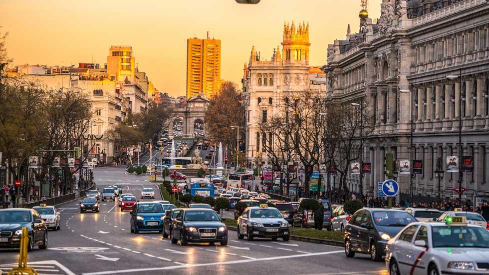 El cierre de tráfico al centro de Madrid, en noviembre