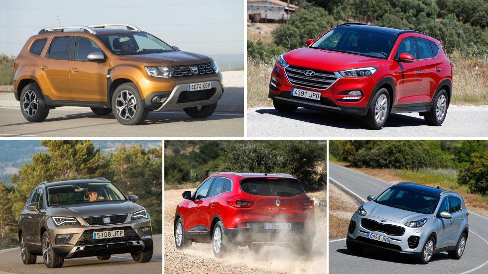 Los 10 SUV compactos más baratos: Duster, ASX, Sportage, Tucson, Kadjar…