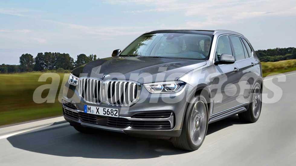 BMW X5 2019: a la venta a final de año con un sistema de tracción único