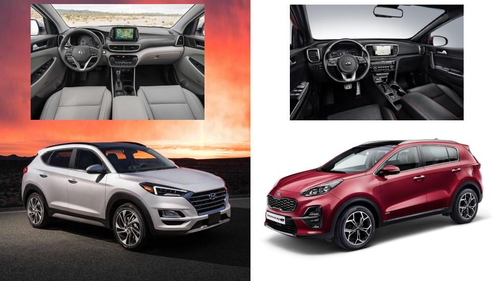 Kia Sportage 2018 vs Hyundai Tucson 2018: ¿qué nuevo SUV es mejor?