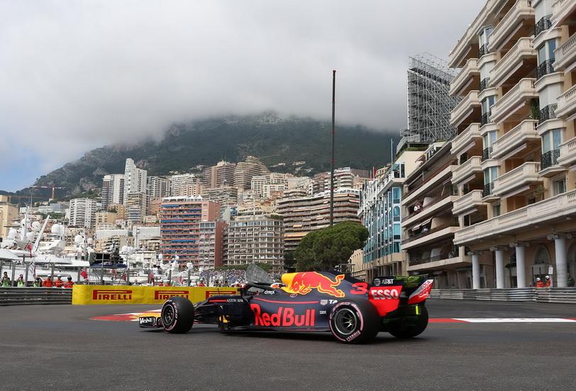 GP de Mónaco de F1 (FP2): Red Bull domina