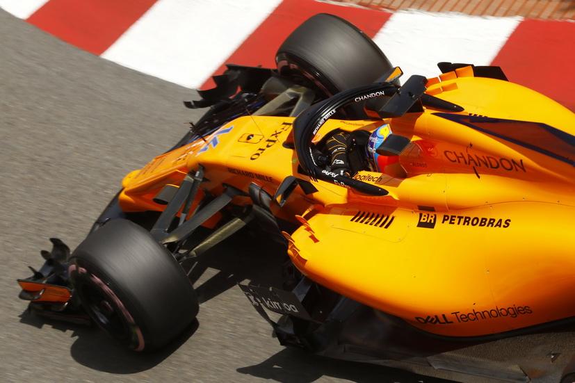 GP de Mónaco de F1: Alonso fue uno de los tres pilotos que abandonó