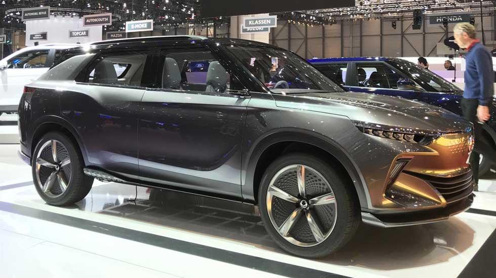 SsangYong Korando EV: el SUV eléctrico que viene