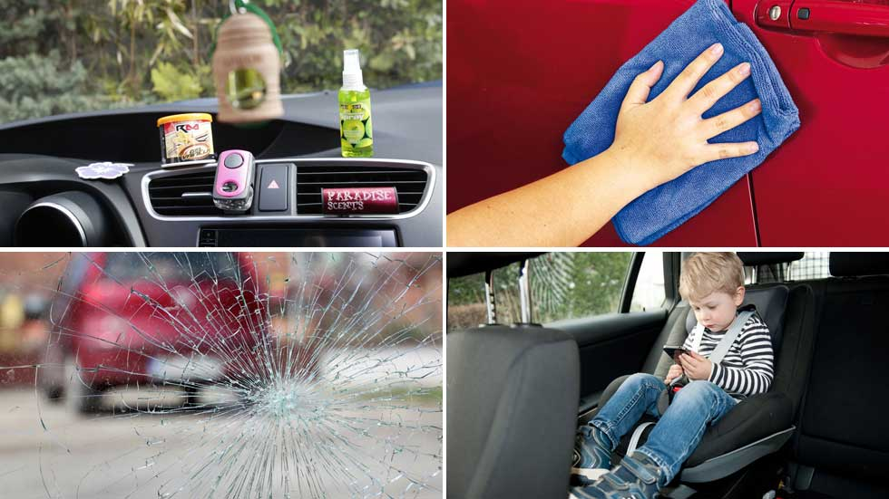Trucos para limpiar tu coche y dejarlo como nuevo (Vídeos)