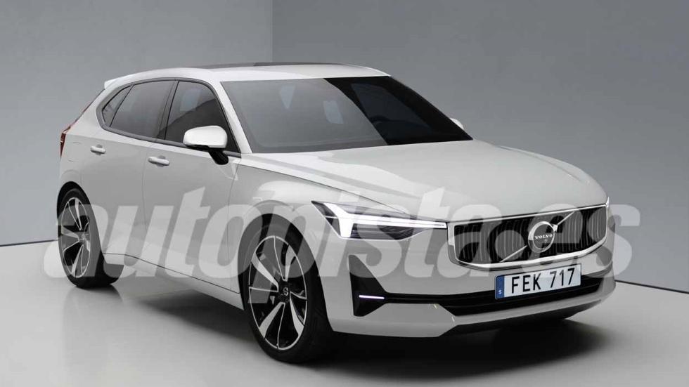 Volvo V40 2019: así será el nuevo compacto rival de A3, Serie 1, Clase A
