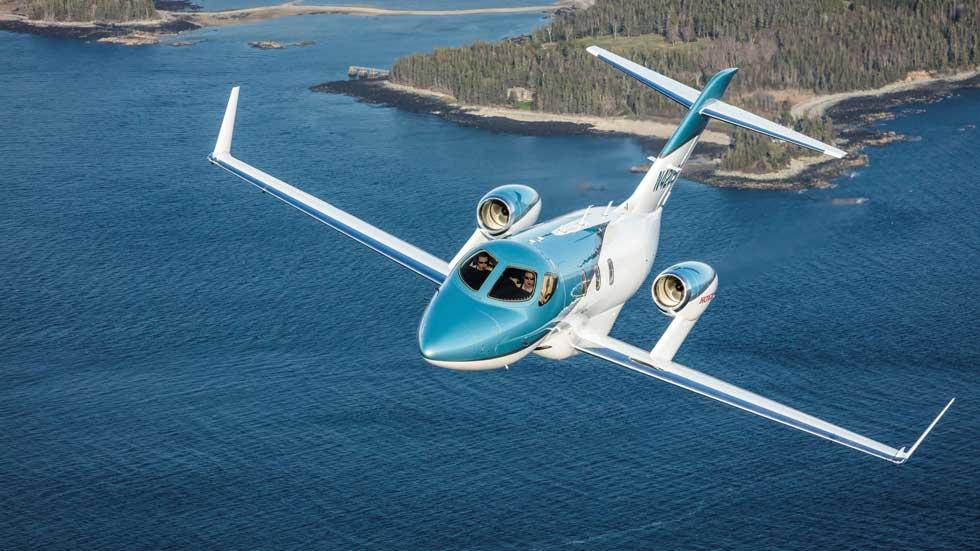 HondaJet Elite: así es el avión de Honda