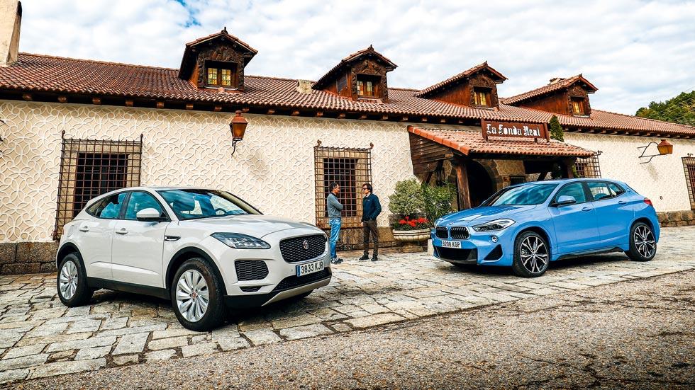BMW X2 XDrive20DA vs Jaguar E-Pace 2.0D 4WD: ¿qué SUV Diesel es mejor?