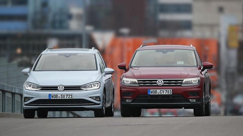 VW Golf Sportsvan 1.5 TSI vs VW Tiguan 1.4 TSI: familiar, ¿SUV o monovolumen?