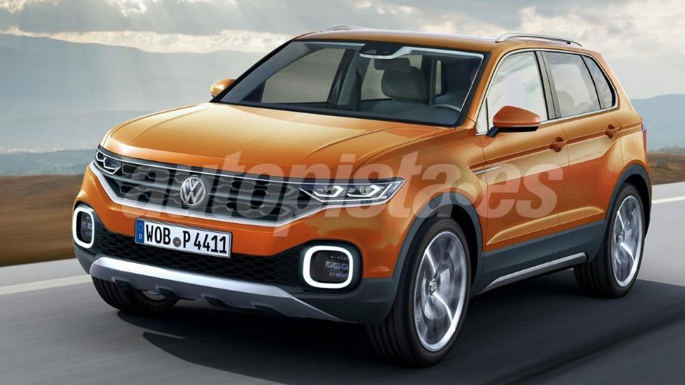 Volkswagen T-Cross: así es el nuevo SUV que llega a final de año
