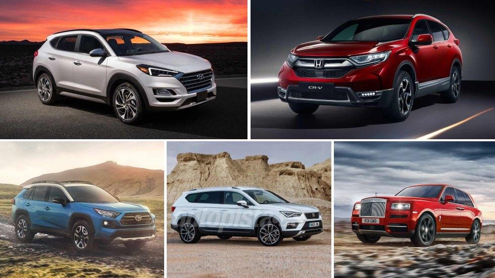 Todos los nuevos SUV que llegan este año: Ateca, Sportage, Tucson, Kadjar, Q3…