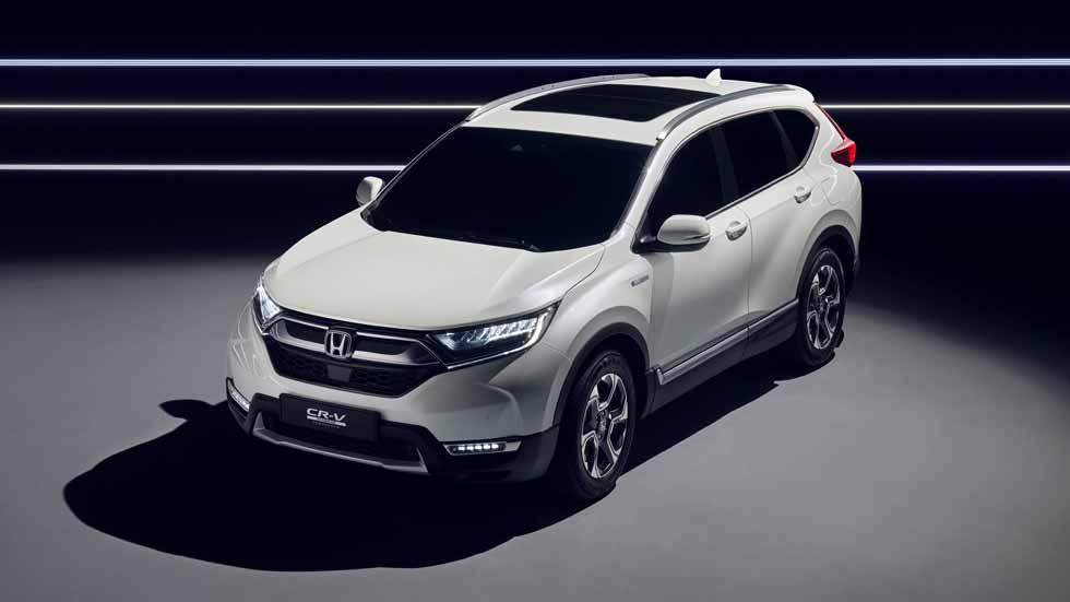 Honda CR-V 2018: híbrido, 7 plazas y muy amplio, así será el nuevo SUV